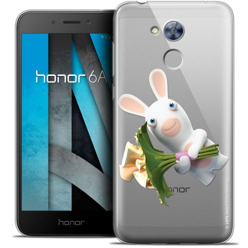"""Crystal Gel Huawei Honor 6A (5"""") Case Lapins Crétins™ Bouquet Crétin"""