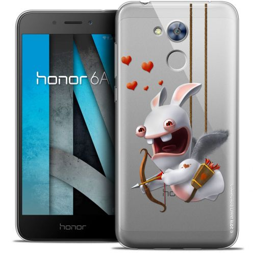 """Crystal Gel Huawei Honor 6A (5"""") Case Lapins Crétins™ Flying Cupidon"""