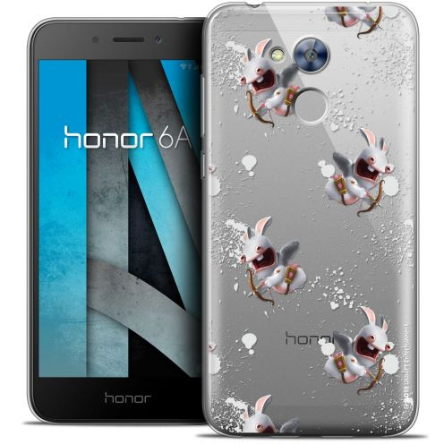 """Crystal Gel Huawei Honor 6A (5"""") Case Lapins Crétins™ Cupidon Pattern"""