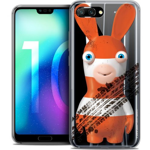 """Crystal Gel Huawei Honor 10 (5.8"""") Case Lapins Crétins™ On the Road"""