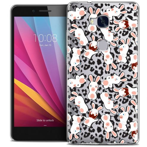 Crystal Honor 5X Case Lapins Crétins™ Leopard Pattern
