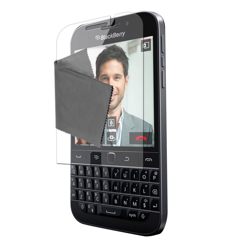 Clubcase ® 3H Ultra Clear HD screen protector for BlackBerry Q20 3-Pack