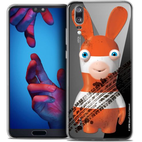 """Crystal Gel Huawei P20 (5.8"""") Case Lapins Crétins™ On the Road"""