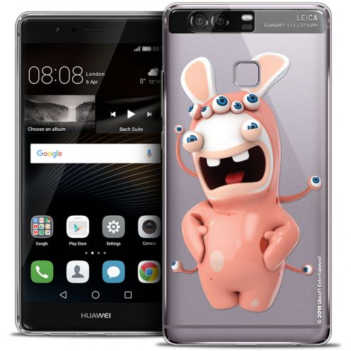 Crystal Rigide Huawei P9 Case Lapins Crétins™ Extraterrestre