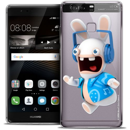 Crystal Rigide Huawei P9 Case Lapins Crétins™ Techno Lapin