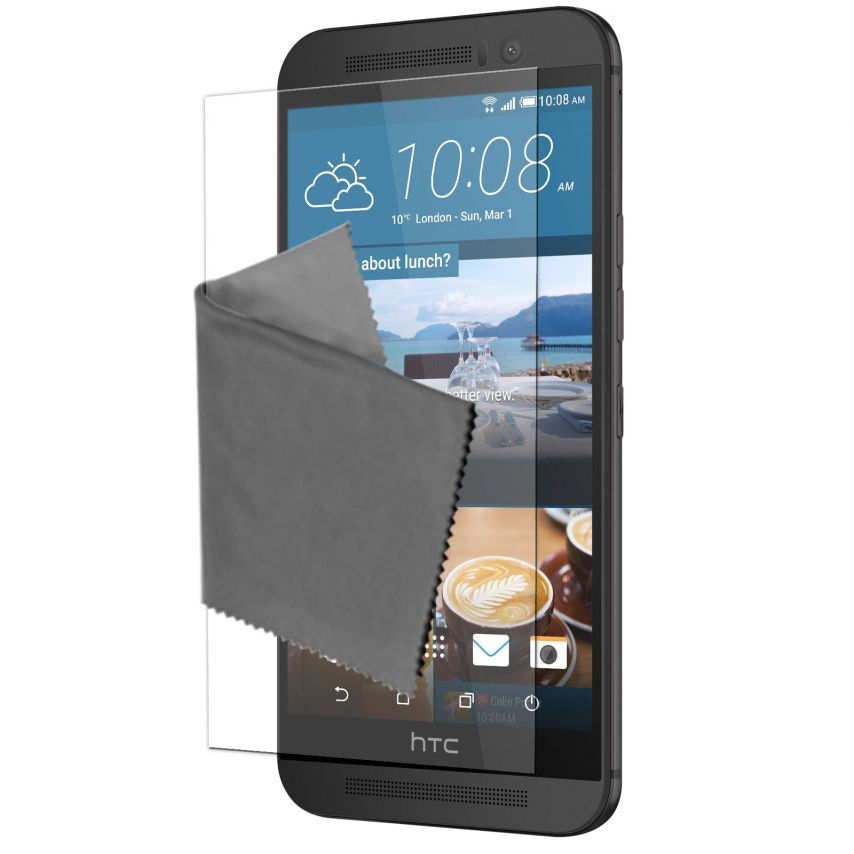Clubcase ® Ultra Clear HQ screen protector for HTC One M9 5-Pack