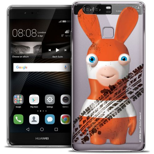 Crystal Rigide Huawei P9 Case Lapins Crétins™ On the Road