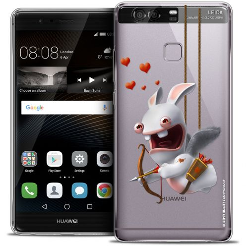 Crystal Rigide Huawei P9 Case Lapins Crétins™ Flying Cupidon