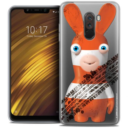 """Crystal Gel Xiaomi Pocophone F1 (6.18"""") Case Lapins Crétins™ On the Road"""