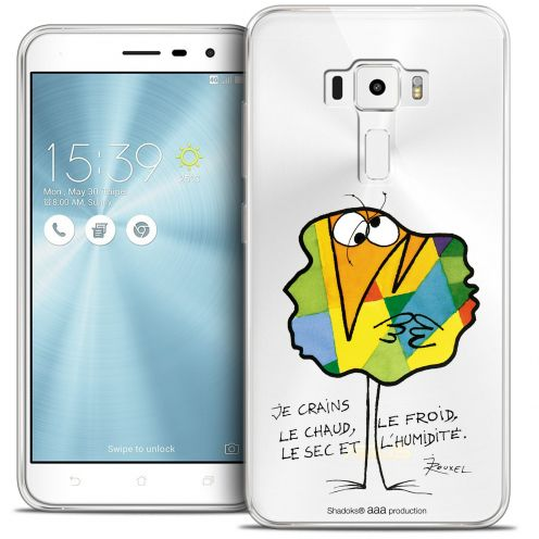 """Extra Slim Crystal Gel Asus Zenfone 3 ZE520KL (5.2"""") Case Les Shadoks® Chaud ou Froid"""