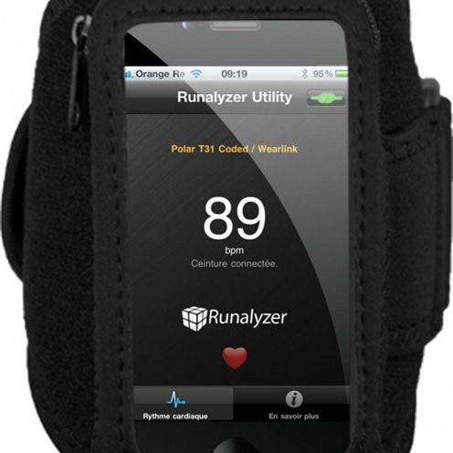 Runalyzer ® Armband for iPhone 3 G / iPhone 4 / 4 S / Touch M/L