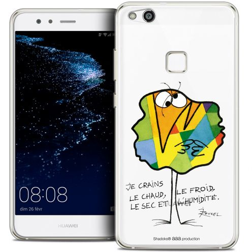 """Extra Slim Crystal Gel Huawei P10 LITE (5.2"""") Case Les Shadoks® Chaud ou Froid"""