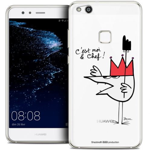 "Extra Slim Crystal Gel Huawei P10 LITE (5.2"") Case Les Shadoks® Le Chef"