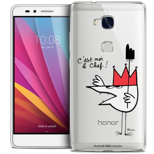 Extra Slim Crystal Honor 5X Case Les Shadoks® Le Chef