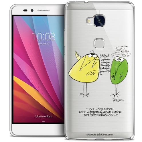Extra Slim Crystal Honor 5X Case Les Shadoks® Le Dialogue