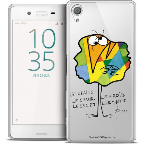 Extra Slim Crystal Xperia X Case Les Shadoks® Chaud ou Froid