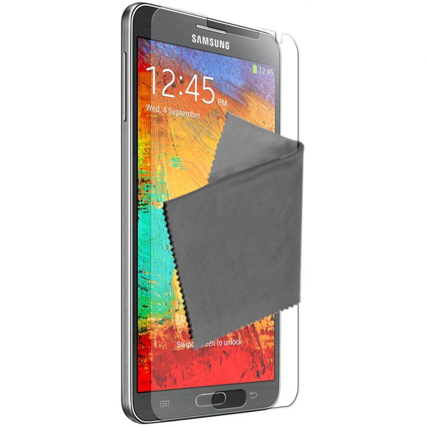 Clubcase ® Ultra Clear HQ screen protector for Galaxy Note 3 10-Pack