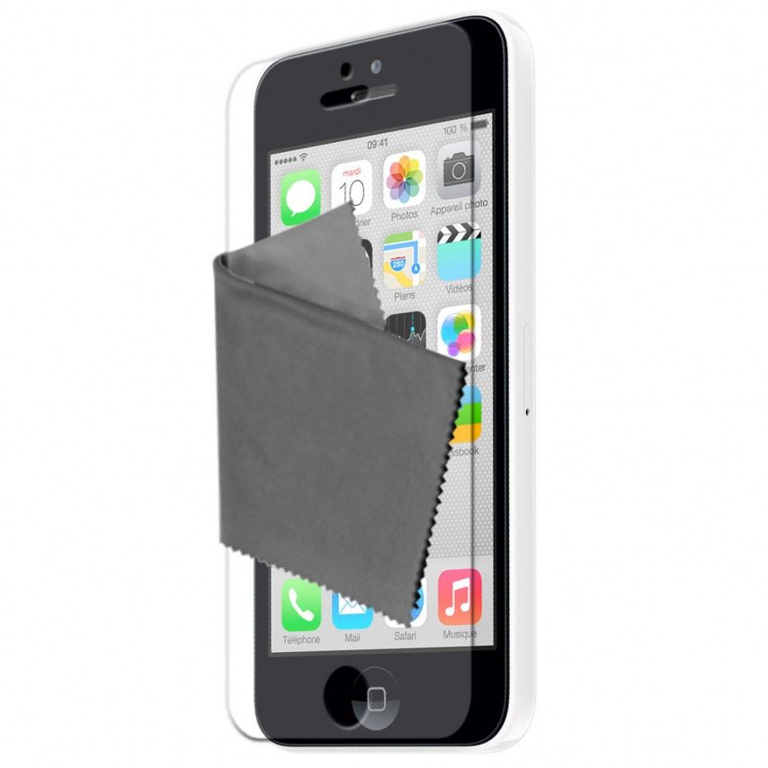 Clubcase ® Ultra Clear HQ screen protector for iPhone 5C 3-Pack