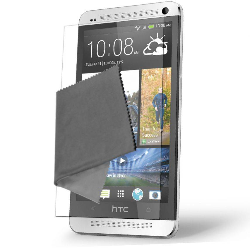 Clubcase ® Ultra Clear HQ screen protector for HTC One 2-Pack