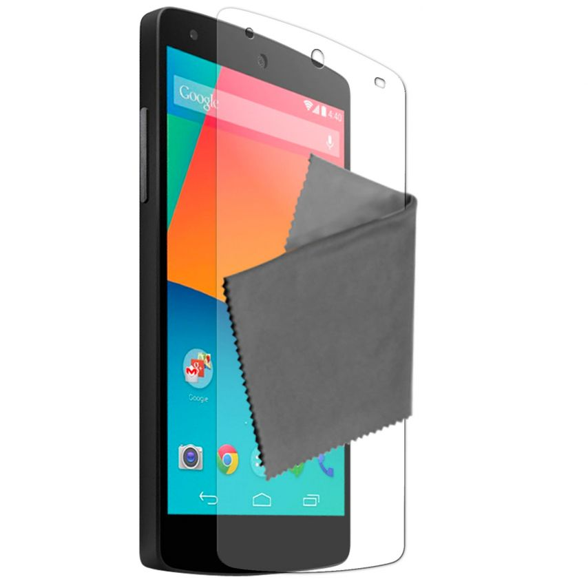 Pack of 3 Anti-Fingerprints Screen protector for LG G2 Clubcase ®