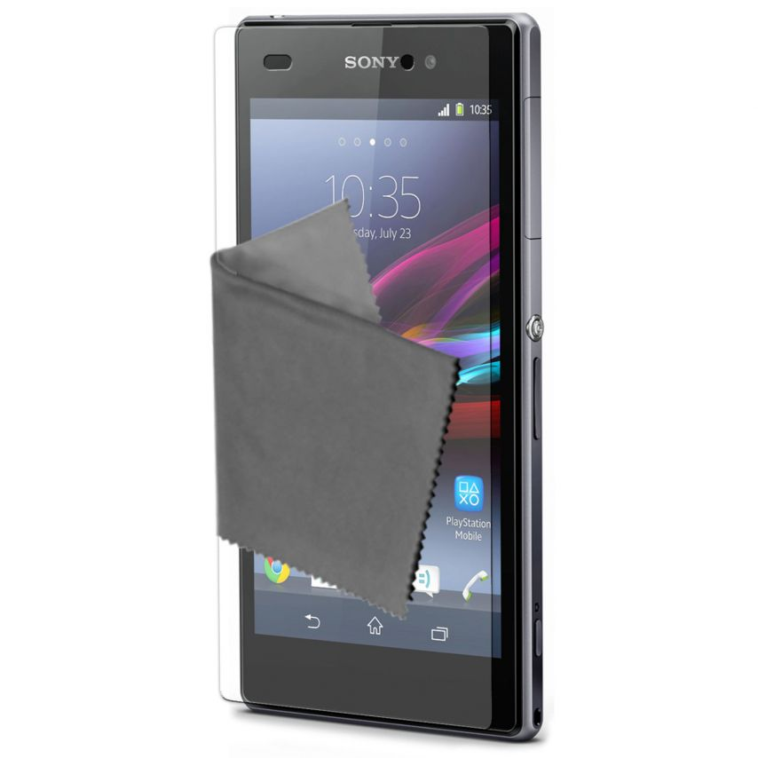 Pack of 2 Anti-Fingerprints Screen protector for Xperia Z1 Clubcase ®