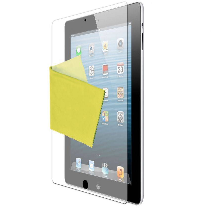 Clubcase ® Anti-Fingerprints HQ iPad screen protector 3-Pack