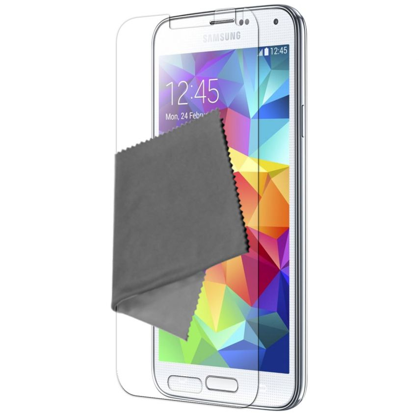Clubcase ® Anti-Glare HQ screen protector for Galaxy S5 3-Pack
