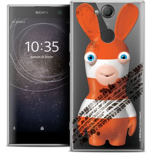 """Crystal Gel Sony Xperia XA2 ULTRA (6"""") Case Lapins Crétins™ On the Road"""