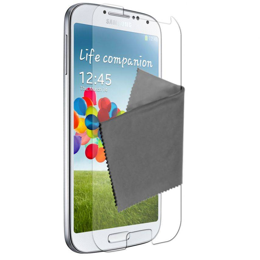 Clubcase ® Anti-Glare HQ screen protector for Galaxy S4 5-Pack