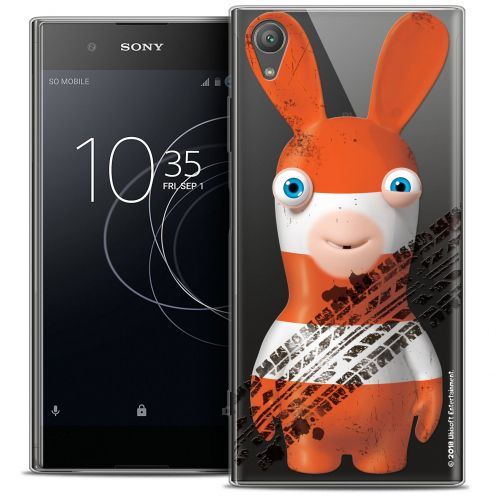 """Crystal Gel Sony Xperia XA1 PLUS (5.5"""") Case Lapins Crétins™ On the Road"""