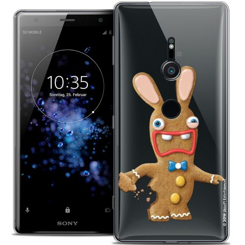 """Crystal Gel Sony Xperia XZ2 (5.7"""") Case Lapins Crétins™ Cookie"""