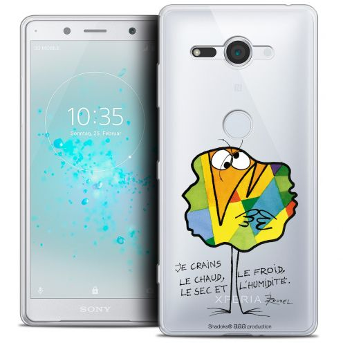 "Extra Slim Crystal Gel Sony Xperia XZ2 Compact (5.0"") Case Les Shadoks® Chaud ou Froid"