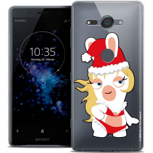 "Crystal Gel Sony Xperia XZ2 Compact (5.0"") Case Lapins Crétins™ Lapin Danseuse"