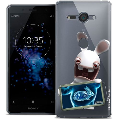 "Crystal Gel Sony Xperia XZ2 Compact (5.0"") Case Lapins Crétins™ X Ray Crétin"