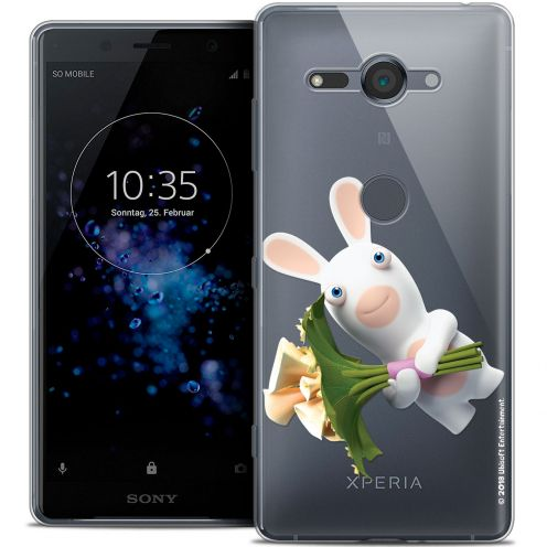 "Crystal Gel Sony Xperia XZ2 Compact (5.0"") Case Lapins Crétins™ Bouquet Crétin"