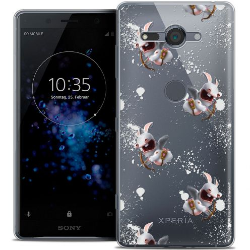 "Crystal Gel Sony Xperia XZ2 Compact (5.0"") Case Lapins Crétins™ Cupidon Pattern"