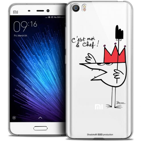 Extra Slim Crystal Gel Xiaomi Mi 5 Case Les Shadoks® Le Chef