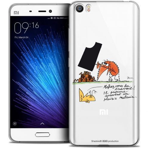 Extra Slim Crystal Gel Xiaomi Mi 5 Case Les Shadoks® Le Travail