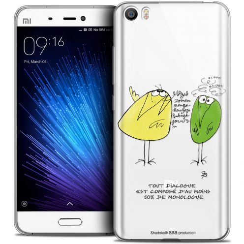 Extra Slim Crystal Gel Xiaomi Mi 5 Case Les Shadoks® Le Dialogue