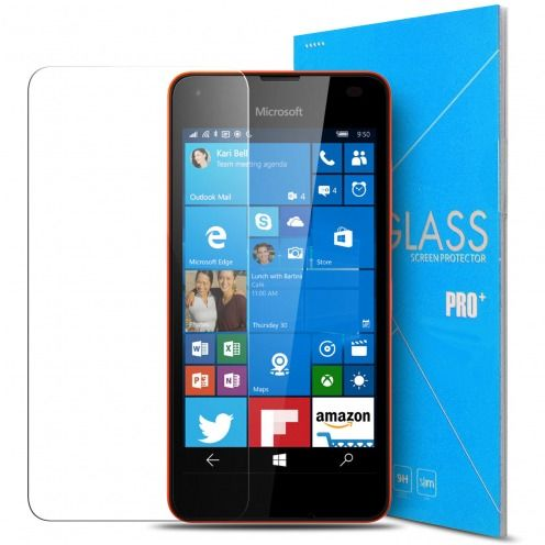 Glass Pro+ Ultra HD 9H 0.33mm Tempered Glass Screen Protector for Microsoft Lumia 550