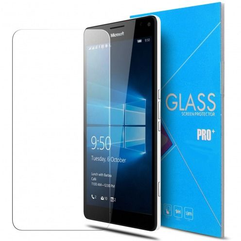 Glass Pro+ Ultra HD 9H 0.33mm Tempered Glass Screen Protector for Microsoft Lumia 950XL