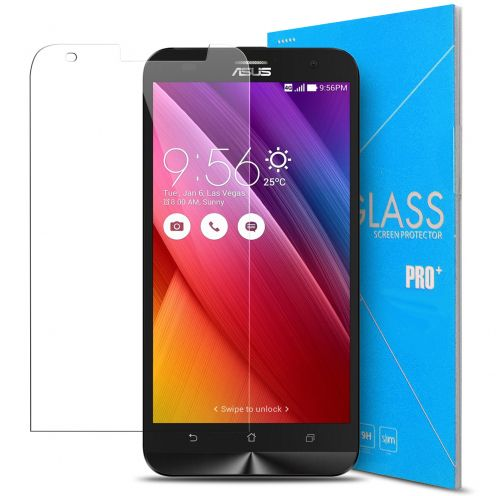 Glass Pro+ Ultra HD 9H 0.33mm Tempered Glass Screen Protector for Asus Zenfone 2 Laser ZE500KL