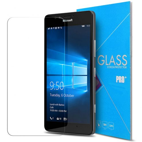 Glass Pro+ Ultra HD 9H 0.33mm Tempered Glass Screen Protector for Microsoft Lumia 950
