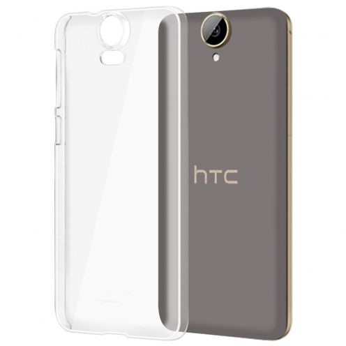 Slim Crystal Clear Hard Case for HTC E9 Plus