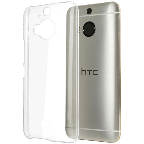 Slim Crystal Clear Hard Case for HTC M9 Plus