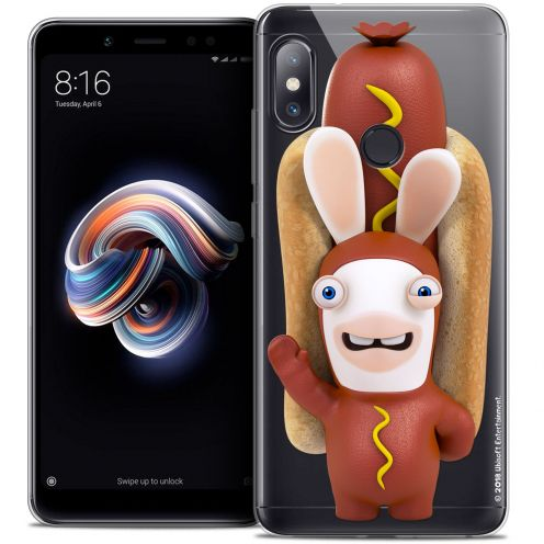 "Crystal Gel Xiaomi Redmi Note 5 (5.99"") Case Lapins Crétins™ Hot Dog Crétin"