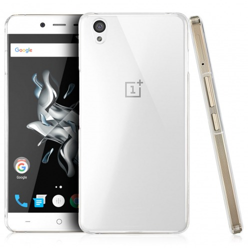 Slim Crystal Clear Hard Case for OnePlus X