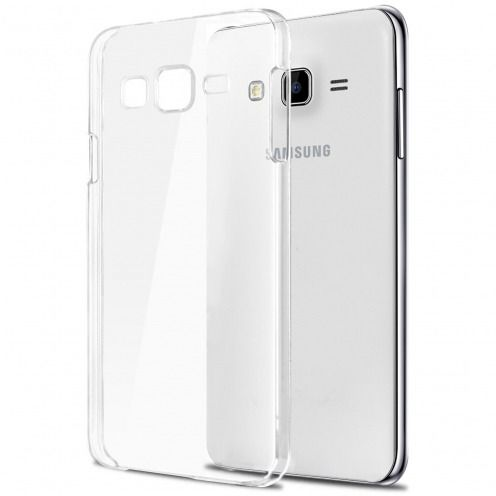 Slim Crystal Clear Hard Case for Samsung Galaxy J7