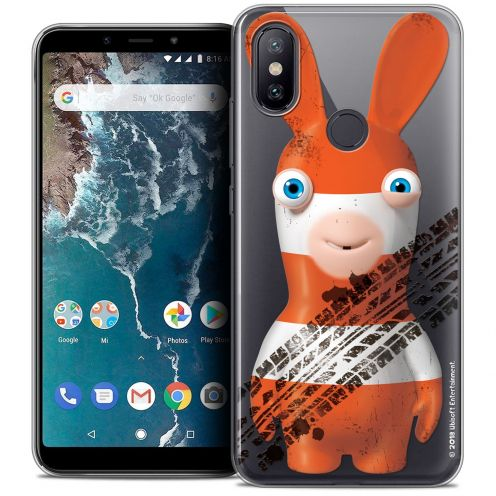 "Crystal Gel Xiaomi Mi A2 (5.99"") Case Lapins Crétins™ On the Road"