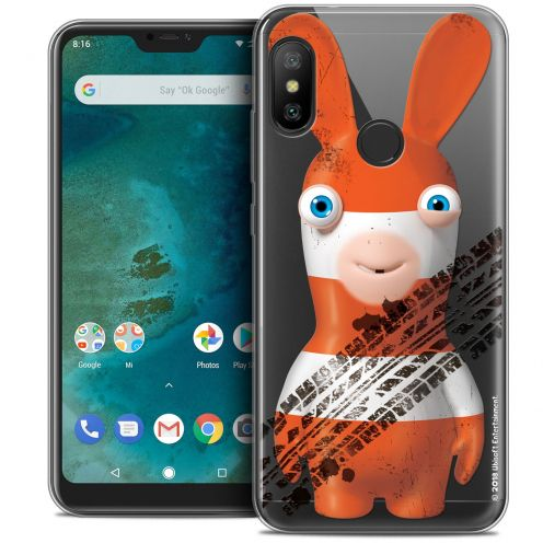 """Crystal Gel Xiaomi Mi A2 LITE (5.8"""") Case Lapins Crétins™ On the Road"""